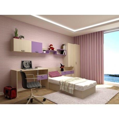 Ολοκληρωμένο Σετ Παιδικό Εφηβικό Δωμάτιο MARIO