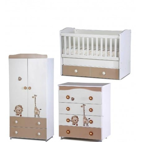 25a216b0118 OEM Ολοκληρωμένο Σετ Βρεφικό Παιδικό Δωμάτιο SAFARI – Babystore.gr