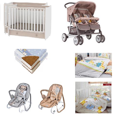 596ee3e43cd Αρχική σελίδα / Κατάστημα / Για Το Μωρό / Βρεφικό Δωμάτιο / Lorelli Σετ  Πακέτο Διδύμων DREAM
