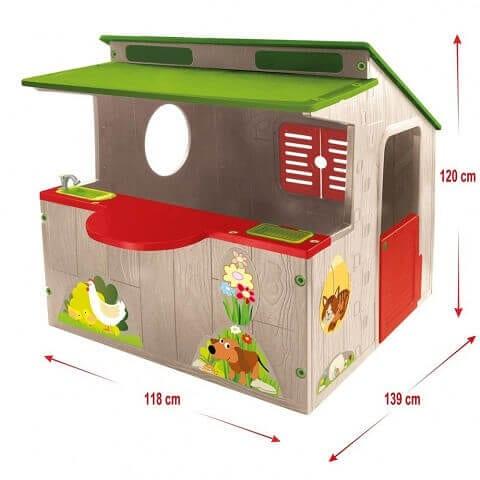 ca4fee725a42 Αρχική σελίδα   Κατάστημα   Για Το Μωρό   Παιχνίδια - Διασκέδαση   Mochtoys  Σπιτάκι Κήπου με Κουζίνα GARDEN HOUSE WITH KITCHEN
