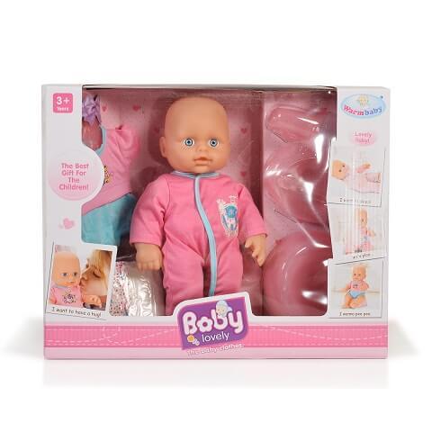 Cangaroo Κούκλα Μωρό Mε Γιογιό, Πάνα και Μπιμπερό